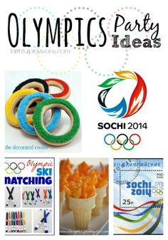 10 Kid-Friendly Olympics Party Ideas - via http://FaithfulProvisions.com