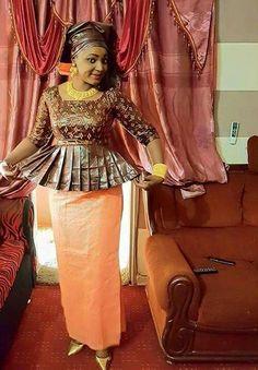 Moi African Attire, African Wear, African Fashion Dresses, African Women, African Dress, Fashion 2017, Fashion Outfits, Womens Fashion, African Design