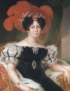 Désirée Clary - Bernadotte - she married Field Marshal Jean Baptiste Bernadotte in 1798.(origem da atual casa da Suecia)
