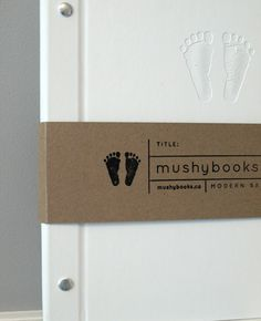 Mushy Books | A perfect mix of style and cuteness, Mushybooks are the perfect way to record your awesome baby's first year | #VonbonBabyGiveaway | http://blog.vonbon.ca