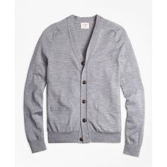 Maison Margiela Wool-Cotton Cardigan ($969) ❤ liked on Polyvore ...