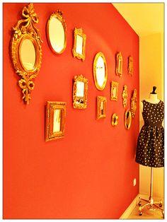 espelhos...
