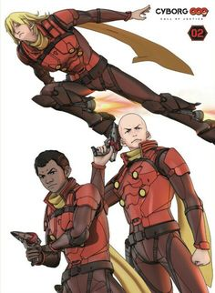 Cyborg 009 Call of Justice.