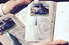 O carteiro do fim do mundo e os passaportes carimbados.