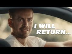 Skylar Grey - I Will Return (Paul Walker Tribute Need For Speed Movie, Paul Walker Quotes, Paul Walker Tribute, Lost In Life, Skylar Grey, Lost People, Movie Songs, Linkin Park, Fast And Furious