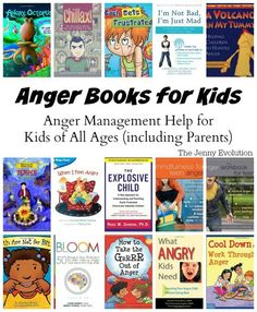 Anger Books for Kids: Anger Management Help for Kids of All Ages (including Parents) | The Jenny Evolution