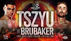 Tszyu vs Brubaker Live Boxing On Friday 6 December 2019 Justin Hodges, Fox Sports, New South, Top Of The World, Number One, S Star, Boxing, December, Friday