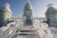 y<3 ice sculptures