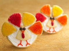 """""""It's Turkey Time"""" Cookies 