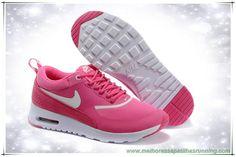 comprar tenis online Nike Air Max Thea Print 616723-807 Nine Vermelho / Branco Mulheres