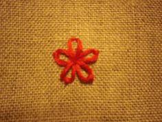 レゼーデージーステッチの縫い方 | nanapi [ナナピ]