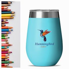 BPA and toxin free, stainless steel tumblers. 💙🌊Our company creates sustainable products. ✨We believe that less to ideally no waste is the future. We hope to inspire others to make changes . Our products are lightweight, eco friendly and FDA approved. Hummingbird Colors, Sustainable Products, Camper Life, Reduce Waste, Inspire Others, Van Life, Tumblers, Wine Glass, Eco Friendly