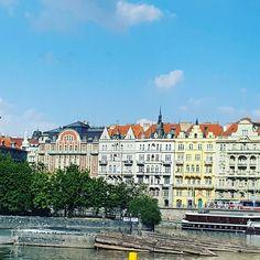 Cruising around Prague. #travel #prague