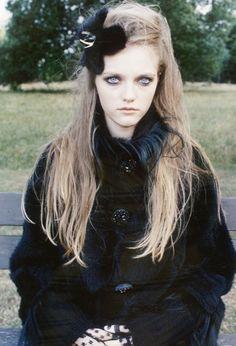 Vlada Roslyakova shot by Venetia Scott