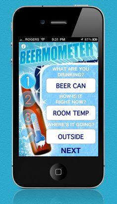 Beermometer for #iPhone