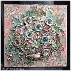 Scrap-Unlimited: Metalen bloemen en takjes