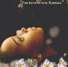 """You have to win Katniss"" It still makes me so sad, every time. #TheHungerGames #Rue"