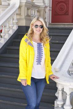 Britt+Whit| Yellow Raincoat
