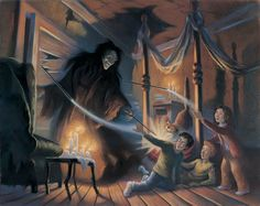 Expelliarmus! | 16 rares illustrations des moments emblématiques d'Harry Potter