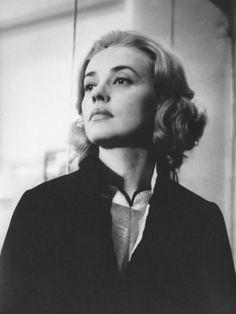 Actress Jeanne Moreau
