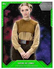 Losse kaarten Verzamelingen Topps Star Wars Card Trader Women of Star Wars Series 2 Week 19 Kaydel Ko Connix