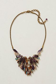 Now THIS is a statement necklace! Nymphalini Deco Bib #anthropologie