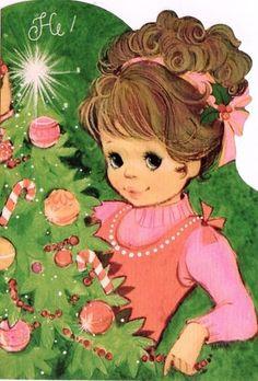 Vintage 1970's Christmas Card