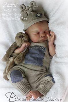 Prototype # 1 Zander By Toby Morgan Amazing Realism Reborn Newborn Baby Boy