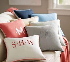 Belgian Flax Linen Pillow Cover #potterybarn