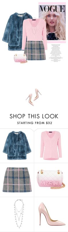"""Pretty In Pink"" by marion-fashionista-diva-miller ❤ liked on Polyvore featuring мода, Marni, Polo Ralph Lauren, Moschino, Lucky Brand, Christian Louboutin, women's clothing, women, female и woman"