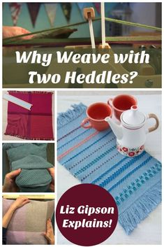 Got a rigid-heddle loom? Adding a second heddle maximizes your design potential. Weave pockets, complex patterning, and doublewidth fabric with a small, simple loom. Inkle Loom, Loom Weaving, Tablet Weaving, Hand Weaving, Cricket Loom, Weaving Projects, Art Projects, Weaving Patterns, Weaving Techniques