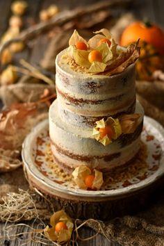 Bolo de Abóbora com Cobertura de Cream Cheese - http://gostinhos.com/bolo-de-abobora-com-cobertura-de-cream-cheese/