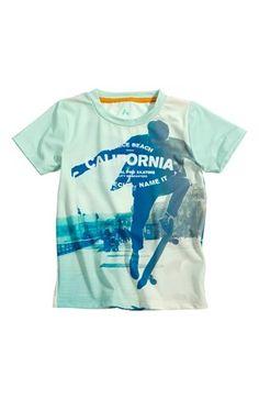 Super cool PLAYTECH by Name it T-shirt Pavs Aqua PLAYTECH by Name it T-shirt til Børn & teenager i luksus kvalitet