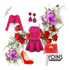 YOINS by hanifasemic on Polyvore featuring polyvore, fashion, style, L.K.Bennett and yoins
