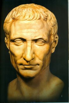 "GAIUS JULIUS CAESAR (100-44 BC): Roman general, statesman, Consul, and notable author of Latin prose. He played a critical role in the events that led to the demise of the Roman Republic and the rise of the Roman Empire. He centralised the bureaucracy of the Republic and was eventually proclaimed ""dictator in perpetuity"". When Caesar was assassinated by a group of senators, a new series of civil wars broke out, and the constitutional government of the Republic was never restored."