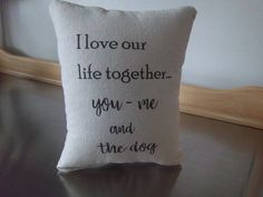 pillows home decor anniversary gift for wife love quote throw pillow cotton cushion