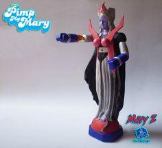 Pimp My Mary 2 : Mary Z by Christian G. Marra, via Behance