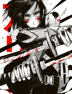 Safebooru is a anime and manga picture search engine, images are being updated hourly. Anime Angel, Alita Movie, Alita Battle Angel Manga, Character Art, Character Design, Arte Ninja, Free Poster Printables, Samurai Artwork, Arte Cyberpunk