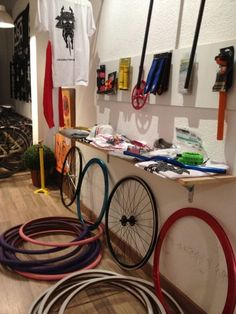 our shop in valencia..PassionBike