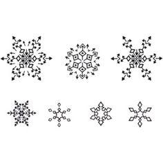 I like thsnowflake tattoos | Small Snowflake Tattoos
