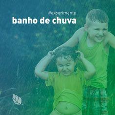 Não há nada mais divertido do que tomar banho de chuva numa tarde de verão. Além de ser refrescante, o banho de chuva melhora sintomas de ansiedade, purifica a pele, ajuda a dormir melhor, energiza o corpo e traz memórias de infância. Que tal experimentar tomar um banho de chuva e se sentir mais feliz? #Bloe #ModaConsciente #ModaSustentável #ExperimenteBloe #FeitoNoBrasil