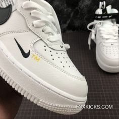 Nike Air Force One Mid Utility Mid Top Casual Sneaker Size Online Casual Sneakers, Sneakers Nike, Nike Kicks, Trendy Swimwear, Nike Air Force Ones, Air Jordan Shoes, Swagg, Air Jordans, Mens Fashion