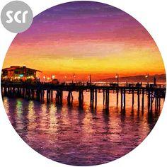 """ Night Pier "" Screensaver. Full version @ https://sellfy.com/p/GgR5/ Or download the freebie @ https://drive.google.com/file/d/0B3KU26iEFvu1bjhyTUpqTlUxUVk/view?usp=sharing"