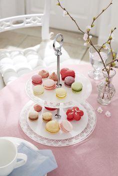 Süße #Leckereien schön angerichtet: #Etagere für €14,95 von #Tchibo