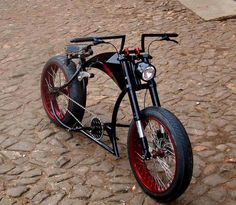 A pedal bike I would ride Bicycle Cafe, Cruiser Bicycle, Lowrider Bicycle, Harley Davidson, Chopper Bike, Motorcycle Style, Bobber Motorcycle, Bike Frame, Electric Bicycle