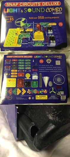 Solaration 5016 Snap-on Circuits Electronic Educational Kit 58 Models to Build