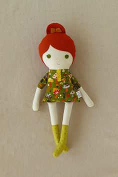 Fabric Doll - like the hair