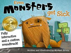 Even Monsters Get Sick - One of the Best Book Apps for Kids