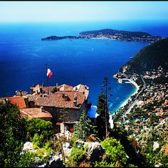 The village of Eze is home to some of France's most incredible scenery and one of its best hotels. Photo courtesy of rgd3 on Instagram.
