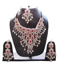 Free Shipping Indian #Bollywood #Necklace Designer by Shoppingover